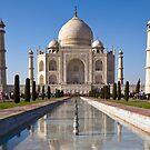 Taj Mahal by Nickolay Stanev