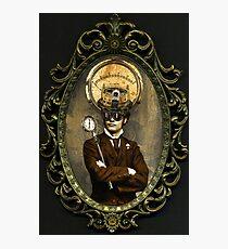 Steampunk Civil War Portrait: Silas Photographic Print