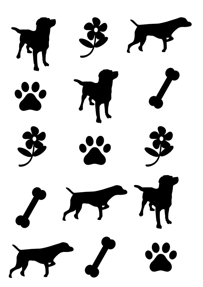 Dog Pattern by lanadelslay