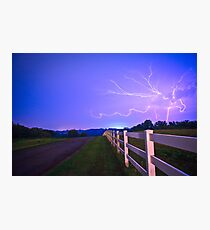 Country Road-Nebraska Photographic Print