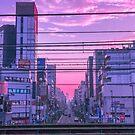 Tokyo Skies by noealz