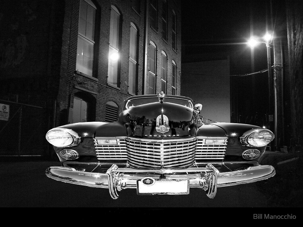 caddy in the shadows by Bill Manocchio
