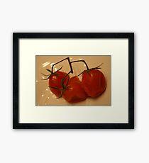 Cherry Tomatoes Framed Print