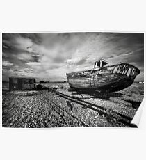 Boat and shed  Poster
