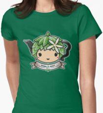 Vanilla Mint Teapot Women's Fitted T-Shirt