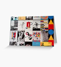 The Bauhaus Way Greeting Card