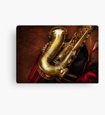 Music - Brass - Saxophone  Canvas Print