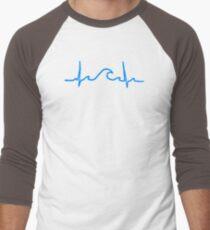 My Heart Belongs to the Waves Men's Baseball ¾ T-Shirt