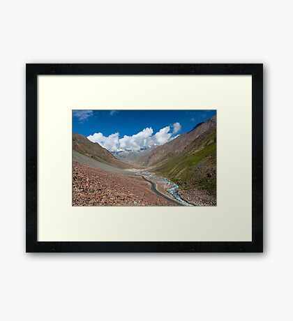 The Beauty of Nature in Laddakh-1/2011 Framed Print