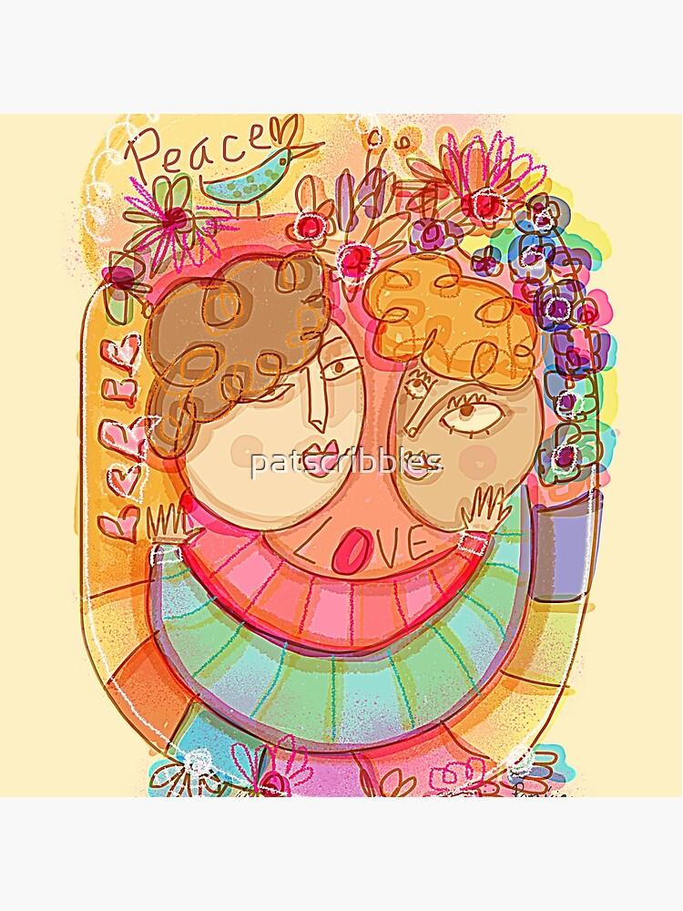 Love & Peace by patscribbles