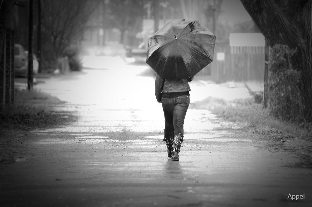 Walking Alone In The Rain | www.pixshark.com - Images ...