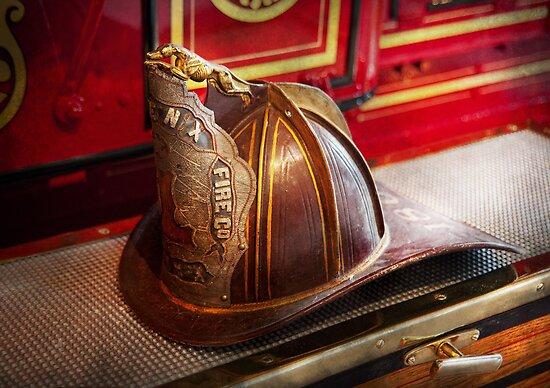 Fireman - Hat - Commander  by Michael Savad