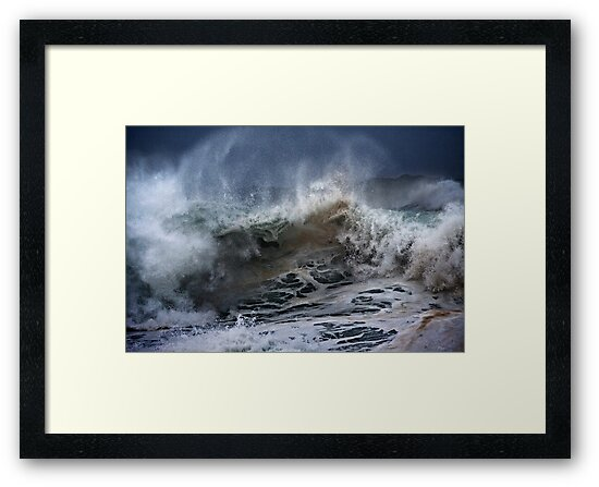 Winter Waves At Pipeline 6 by Alex Preiss