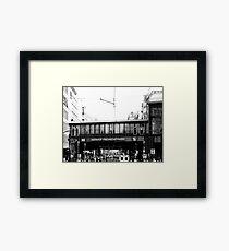 BERLIN - BAHNHOF FRIEDRICHSTRASSE Framed Print