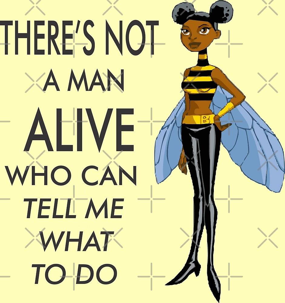 Bumblebee the Feminist by AndreaCarNegie