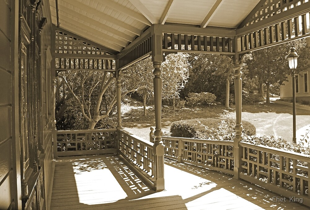 Sepia View by Chet  King