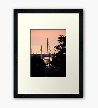 Morning is waking © Framed Print