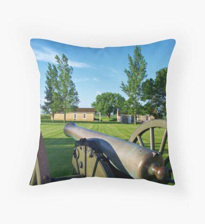 Prairie Outpost Throw Pillow