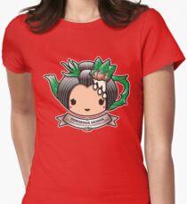 Gorgeous Geisha Teapot Women's Fitted T-Shirt
