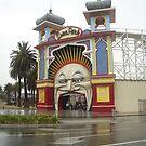 A portrait of Luna Park by Suzanne Newbury