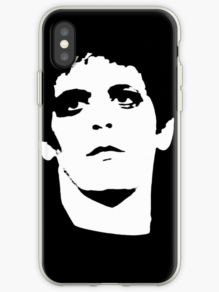 'Lou Reed Transformer Shirt' iPhone Case by RatRock