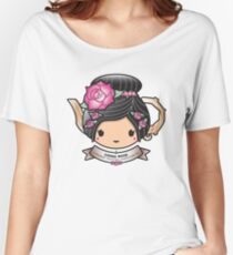 China Rose Teapot Women's Relaxed Fit T-Shirt