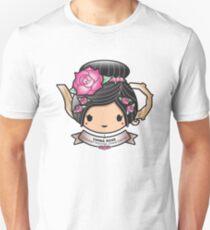 China Rose Teapot Slim Fit T-Shirt
