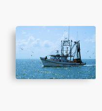 Shrimp Boat Jimmy T Rockport TX Canvas Print