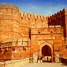 Entrance to The Red Fort - Agra by Shiva77