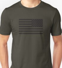 Soldier's Arm US Flag Unisex T-Shirt