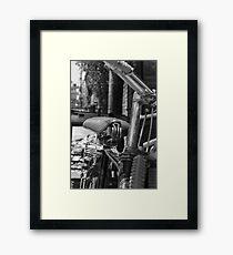 Nepal Cruiser Framed Print