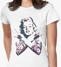 Punk Marilyn Women's Fitted T-Shirt