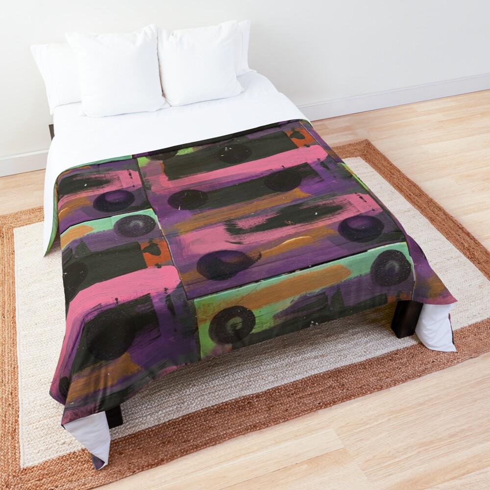 Indigo Ladybug  Comforter