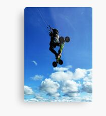 Extreme Sports - Kiteboarding Metal Print