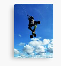 Extreme Sports - Kiteboarding Canvas Print