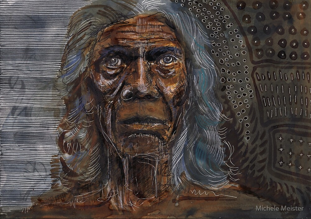 David Gulpilil by Michele Meister