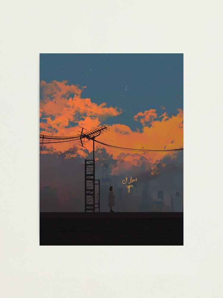 Alternate view of Always Photographic Print