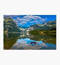 Hallstatt in Austria-004 Photographic Print