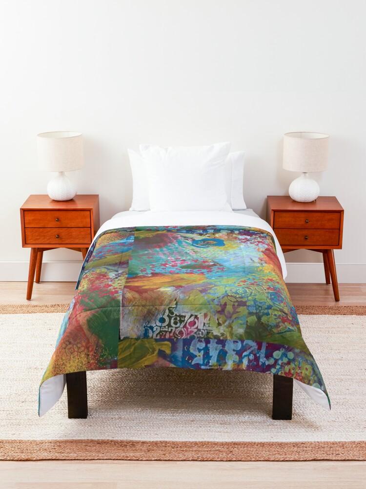 Alternate view of What Love Looks Like Comforter