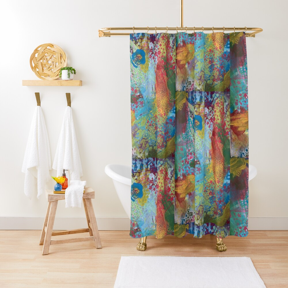 What Love Looks Like Shower Curtain