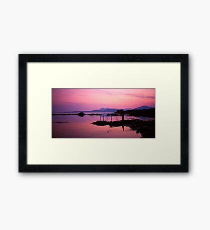 Sunset, Isle of Skye Framed Print