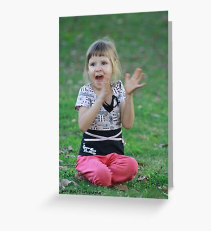 Lexie..its short for Alexandra! Greeting Card