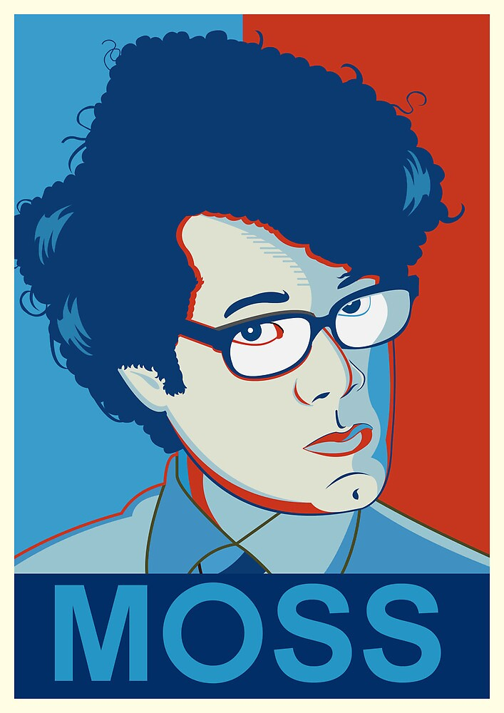 Moss | The IT Crowd by Tom Trager