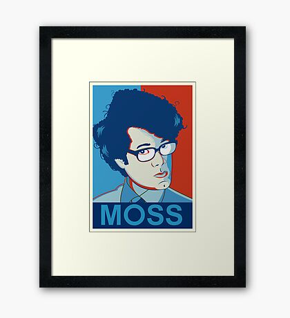 Moss | The IT Crowd Framed Print