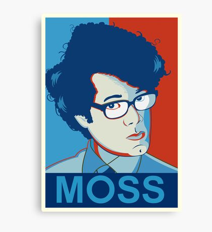 Moss | The IT Crowd Canvas Print