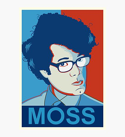Moss   The IT Crowd Photographic Print