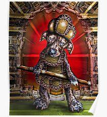 Vaudeville Puppy Poster