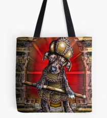 Vaudeville Puppy Tote Bag