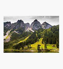 Hallstatt in Austria-009 Photographic Print