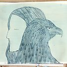 Totemic Animal - SoJie 12 Workshop - WIP 4 (a) by Ina Mar